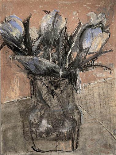 georgette_osserman-TulipBulbsReflectedintheVase